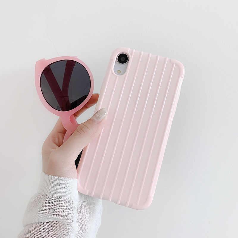 Caso de Telefone de moda Para Samsung Galaxy A50 A30 A70 A20E M20 Nota 9 10 Pro S10 S9 S8 J4 J6 Plus A7 A9 2018 Casos TPU Macio Capa