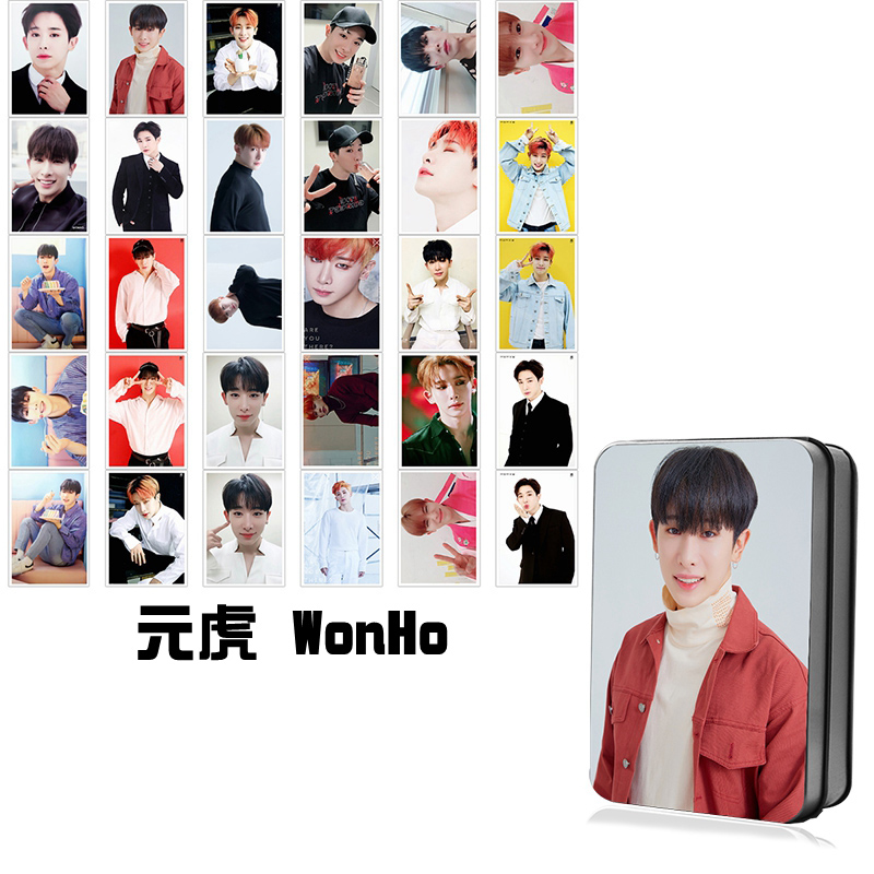MONSTA X Gift Box with Polaroid Photo Cards