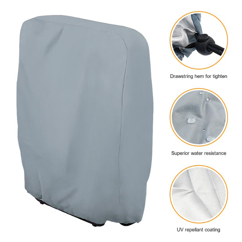 Get Waterproof Folding Chairs Cover Outdoor Dust Proof 5 Chair And Sofa Covers