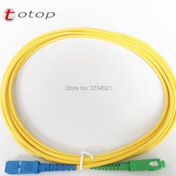 10Pcs SC/APC-FC/UPC, SC/APC-LC/APC, SC/APC-SC/APC, SC/UPC-SC/APC 3M SM 3.0mm G657B3 optical fiber cable / jumper patchcord фото