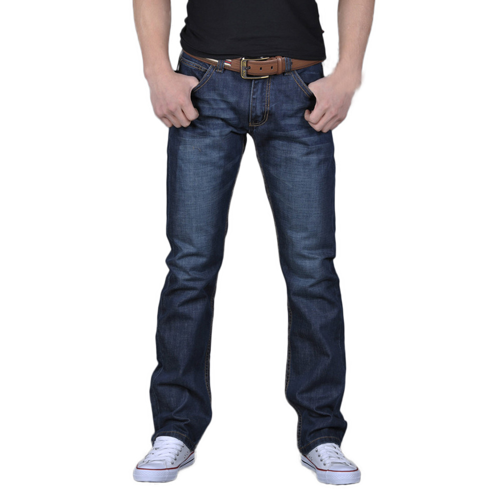 Men Denim Jeans Casual Autumn Winter Hip Hop Pants Male Loose Work Long Trousers Men Jeans Pants Slim Fit Denim Jean #Z4