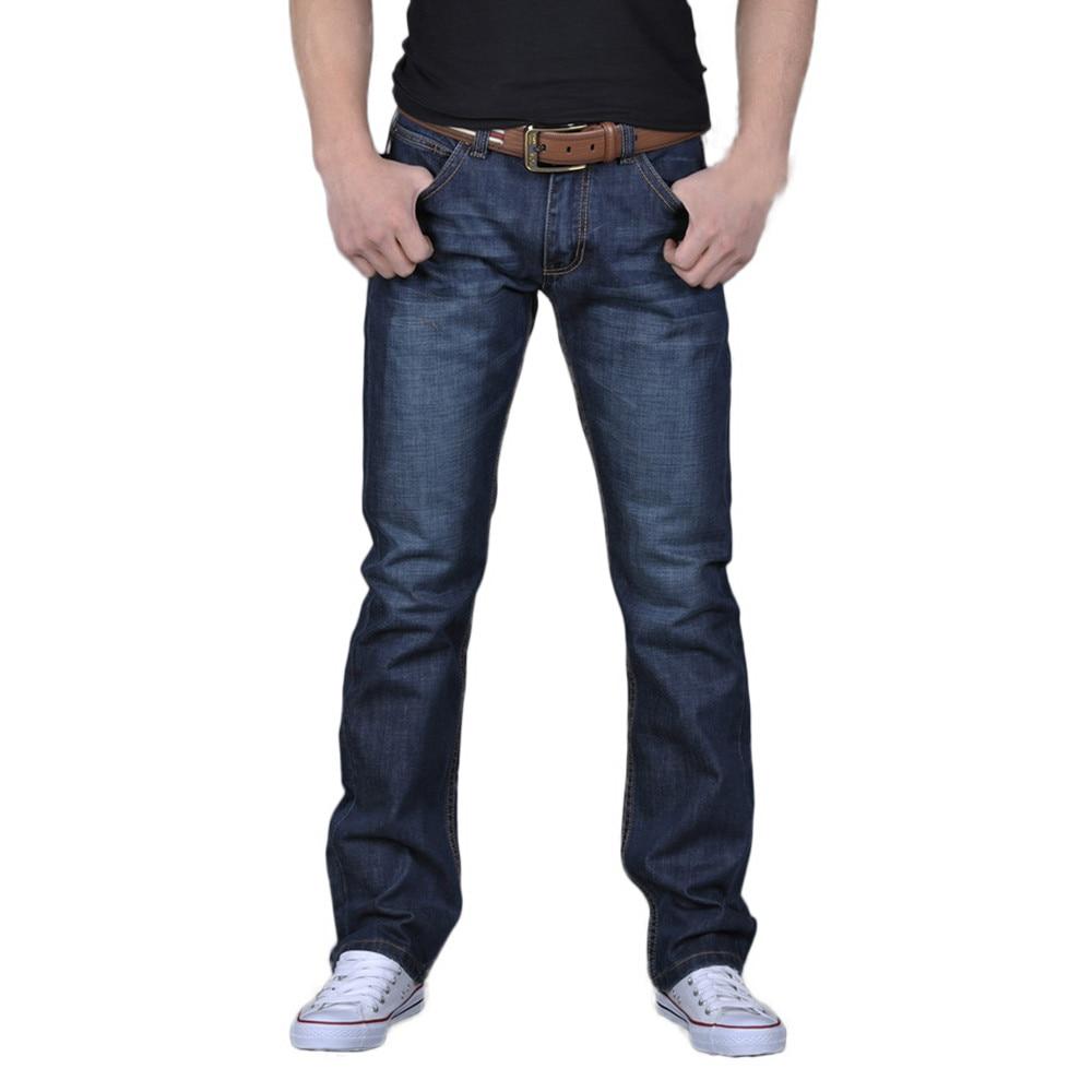 Men Denim Jeans Casual Autumn Winter Hip Hop Pants Male Loose Work Long Trousers Men Jeans Pants Slim Fit Denim Jean #Z4