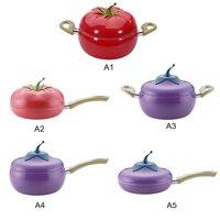 Fruit Design Frying Pan Cooking Pot Milk Pan Grill Pan Cooker Cookware DIY Fruit Design Cooking Utensils Kitchen Supplies