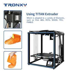 Image 4 - Tronxy X5SA PRO 3D Drucker Struktur Kit diy Auto level impresora control board Aluminium Profil 3d farbe drucker tpu Filament