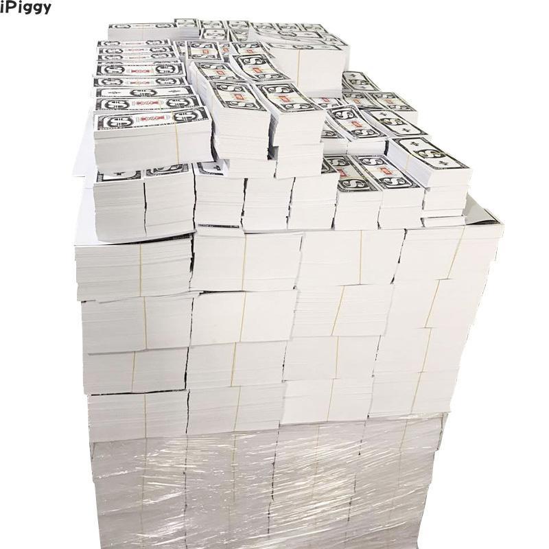 IPiggy 1000 pièces cadeau argent comptant seulement pour l'argent pistolet papier ou argent pistolet de pluie jouet