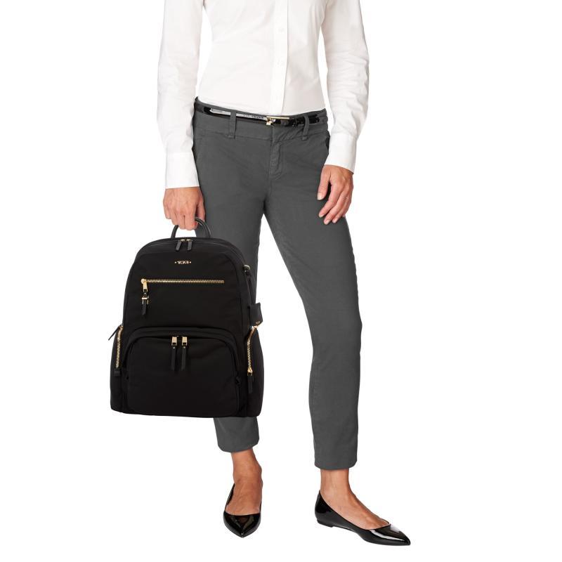 Computador portátil mochila grande aberto computador mochila portátil saco da faculdade das mulheres resistente à água saco de viagem de negócios pacote - 2