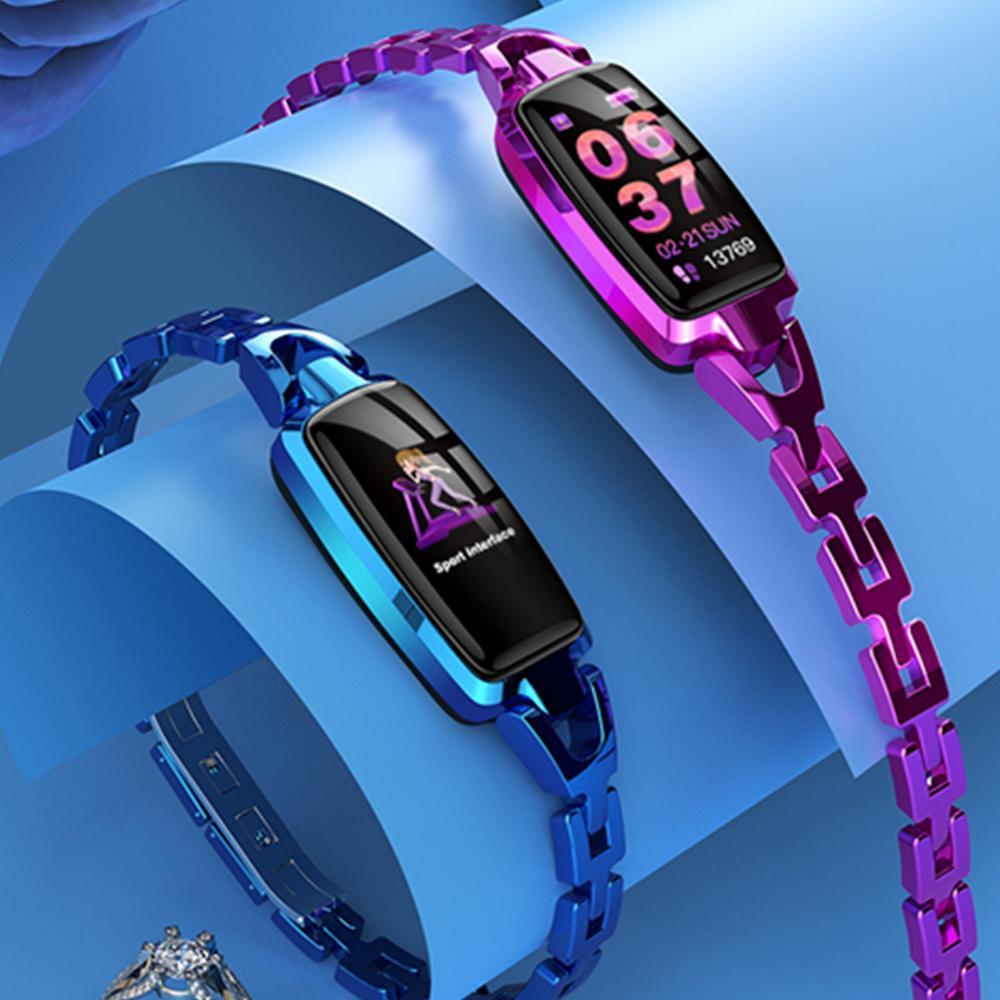 Dr66 Women Smart Watch Lady Fitness Bracelet Tracker Women Smartwatch Smart Band Heart Rate Monitor Blood Pressure Wristwatch