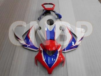 Para Honda Cbr1000 RR 2008 - 2011 Kits de carrocería CBR1000RR 08 09 carenados de plástico blanco rojo CBR1000 RR 2010 carenado de motocicleta