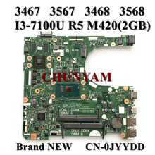 Mainboard M420-2gb 15341-1 Vostro Dell R5 for 3467/3567/3468 3568 91n85/0jyydd/Jyydd/..