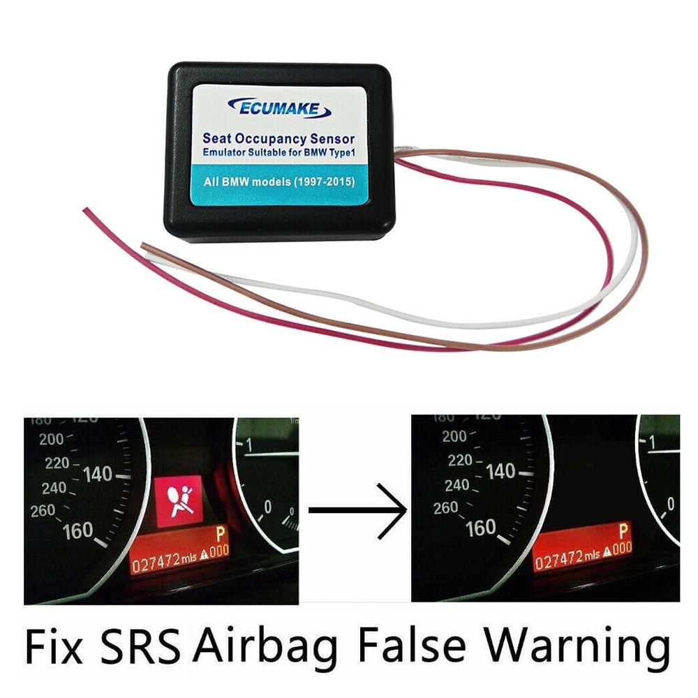 Passenger Seat Occupancy Mat Bypass For BMW E60 E90 X5 X6 Airbag Sensor Emulator Durable And Practical