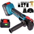 18V 800W Oscillating Multi Tool Cordless Shovel/Cutting/Trimming Power Tool Woodworking Tool For Makita 18V Battery