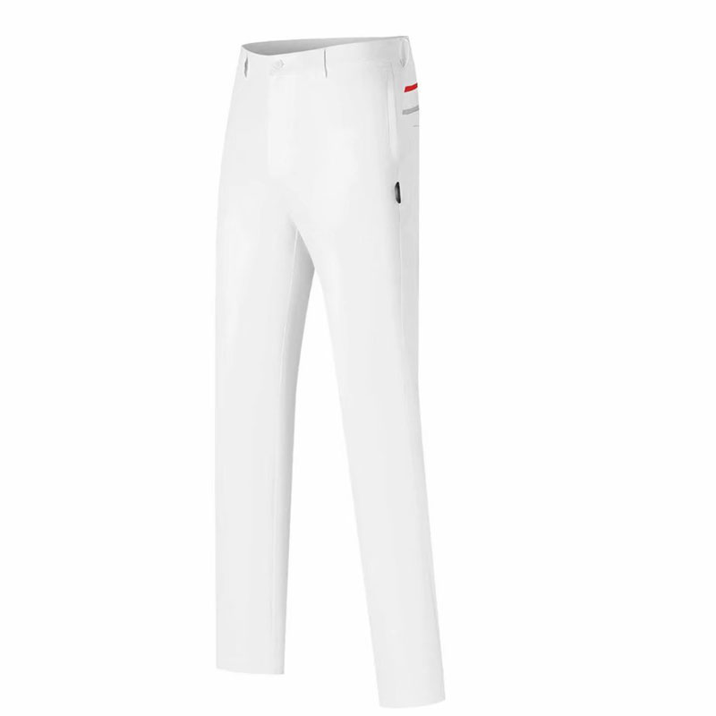 New Men Golf pants Summer solid color fashion casual Golf wear Quick-drying Breathable Titl Golf Full Length