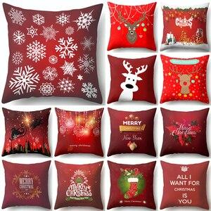 1Pcs Deer Snowflake Red Christ