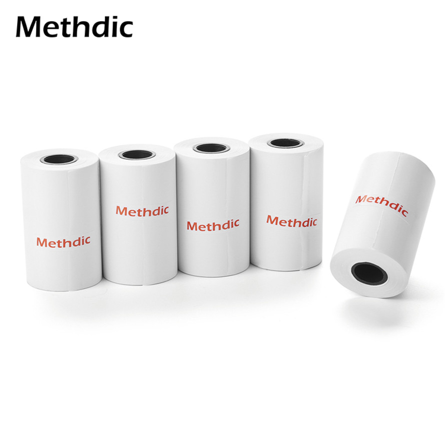 Methdic  2 1/4 X 50ft Thermal Paper Rolls 5 Rolls Cash Register Paper