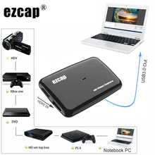 USB 3,0 HDMI Video Capture Card Game TV Box Kamera Aufnahme Platte Suppot Mic In Mix Audio Kommentar 1080P 60fps Live-Streaming