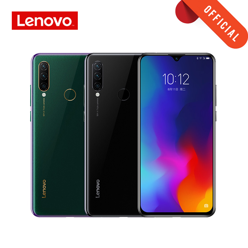 Global rom lenovo smartphone z6 lite 6 gb 128 gb telefone móvel 2340*1080 6.3 Polegada 16mp ai inteligente 3 câmera snapdragon 710 4050 mah on AliExpress