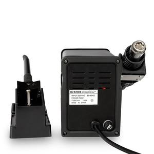Image 3 - YaogongビッグDeal898Dオートカット熱風2で1 dc電源はんだリワークステーション