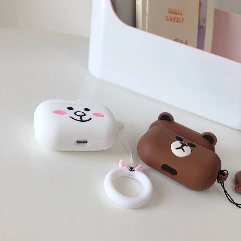 Cute 3D Silicone Case for AirPods Pro 144