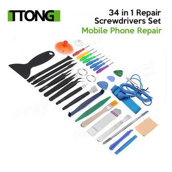 34 in 1 Repair Type Precise Screwdrivers Set Kit Mobile Phone Repair Tool for Smartphone Tablets PC Laptop