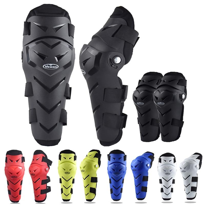 Vemar moto rcycle Knie Pads Schutz moto kreuz moto MTB BMX DH Bike Radfahren Ellenbogen Drop-Beständig Bein knie schutz Getriebe 4PCS