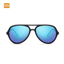 Xiaomi TS Unisex  Ice Blue Polarized Sunglasses UV400 Portable Anti-Glare Outdoor Travel Fishing Eyewear Accessories xiaomi ts uv proof nylon polarized aviator sunglasses