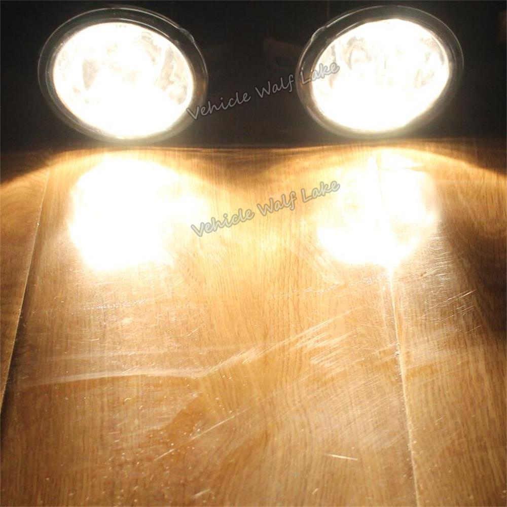 Para bmw série 1 e82 2007 2008 2009 2010 carro-estilo frente halogênio luz de nevoeiro lâmpada com lâmpadas