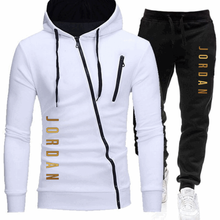 Casual Tracksuit Pants Hoodie Sportswear Men's-Sets Brand Clothing Hot-Sale Male Winter