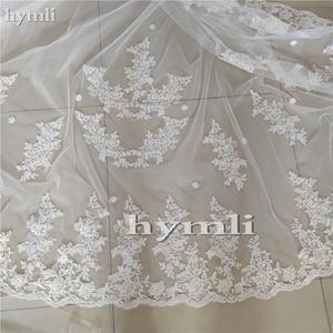 Image 5 - Cape de mariée en dentelle cathédrale longueur accessoire de robe de mariée en blanc, blanc cassé, ivoire, nouvelle collection