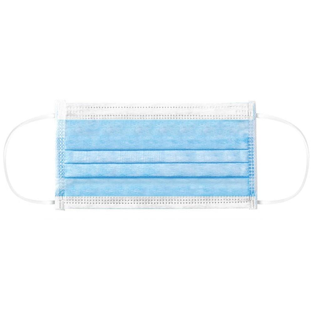 Image 3 - 5/10/20/50pcs 3 layer Disposable Non Woven Masks Filter Medical  Dustproof PM2.5 Mouth Nose Anti Coronavirus face Masks FFP3  -