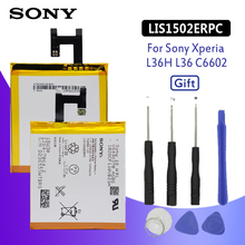 SONY Original Phone Battery for Sony Xperia Z L36h L36i C6602 SO-02E C6603 S39H LIS1502ERPC 2330mAh Replacement Batteries +Tools