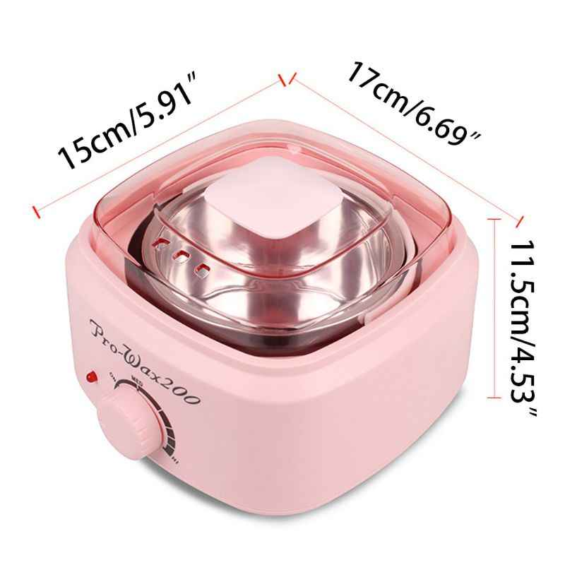 500Cc Mini Lilin Warmer Heater Listrik Tangan Spa Rambut Removal Depilatory Mencair Lilin Mesin Pot Temperatur Kontrol
