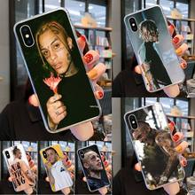 0 Rap Singer XXXTentacion TPU Soft Silicone Phone Case Cover for iPhone 11 pro XS MAX 8 7 6 6S Plus X 5 5S SE XR coverse 2020 xxxtentacion phone cases for iphone 11 pro max x 6 7 8 plus 5 5s 6s se soft silicone xxx black case cover for iphone xs max xr