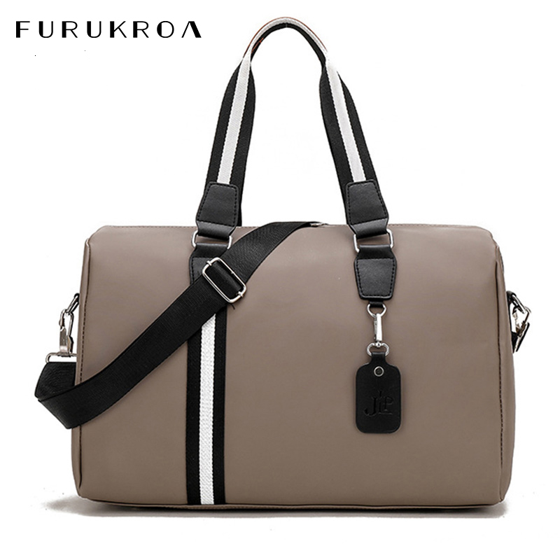 Unisex Nylon Woman Travel Bags Large Handbag Carry On Fitness Weekend Bag Ladies Multifunction Duffle Bag For Men 2020 XA733WB