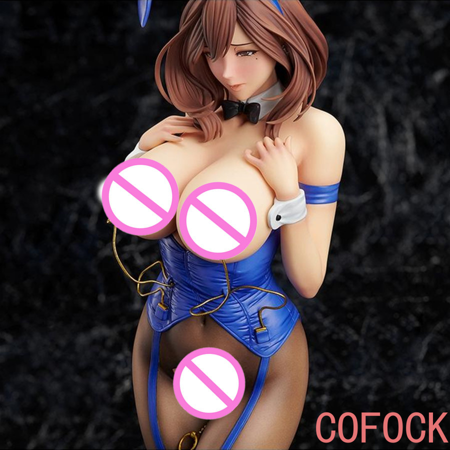 Toys Anime Figures Native Bunny Girl Non-Virgin Adult Sexy PVC Japan 42cm Soft title=