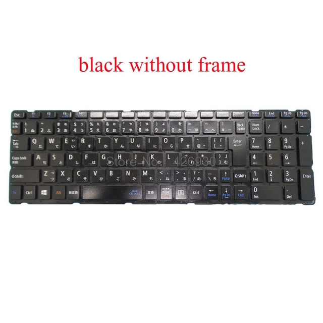 Laptop Keyboard for NEC LaVie S LS150//TS 2B-08239Q121 AEFF6J00080 Japanese JP JA White with Frame New and Original