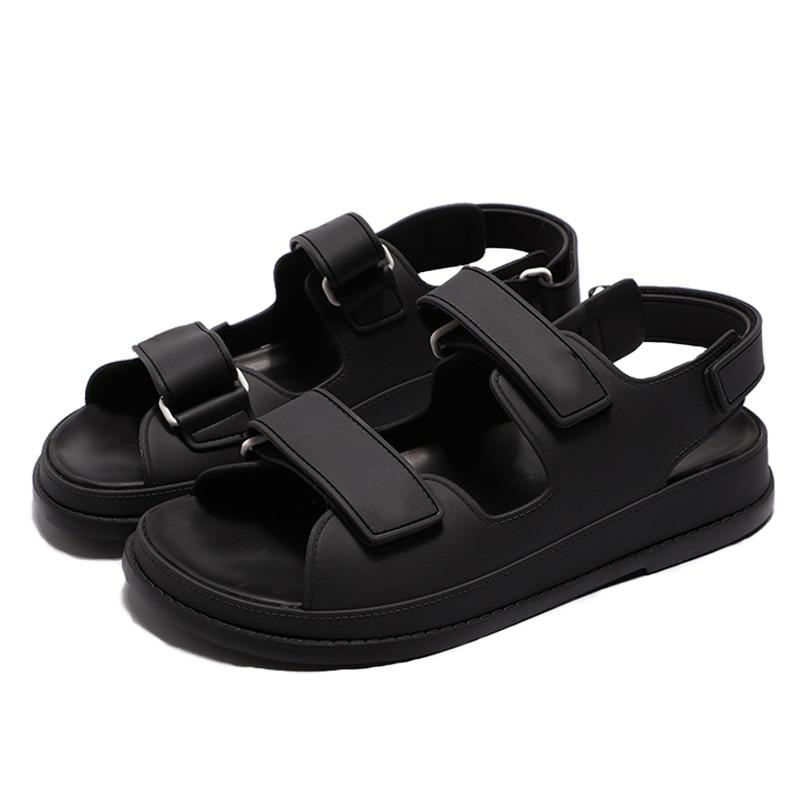 Siddons Fashion Women Sandals Woman Sandalias Platform Flats Ladies Leather Sandals Female Brand footware Shoes Zapatos De Mujer Low Heels  - AliExpress
