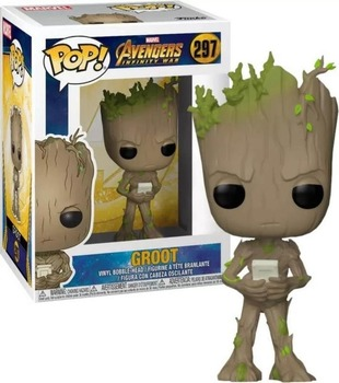 FUNKO POP Guardians of the Galaxy Vol. 2 Groot Action Figure Toys Decoration Model Dolls for Kids Birthday Christmas Gifts 5
