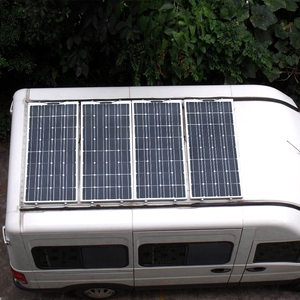Image 5 - 2Pcs 4Pcs 10Pcs 100 W פנל סולארי Monocrystalline תאים סולריים גמיש עבור רכב/יאכטה/ספינת קיטור 12V 24 וולט 100 ואט סולארי סוללה