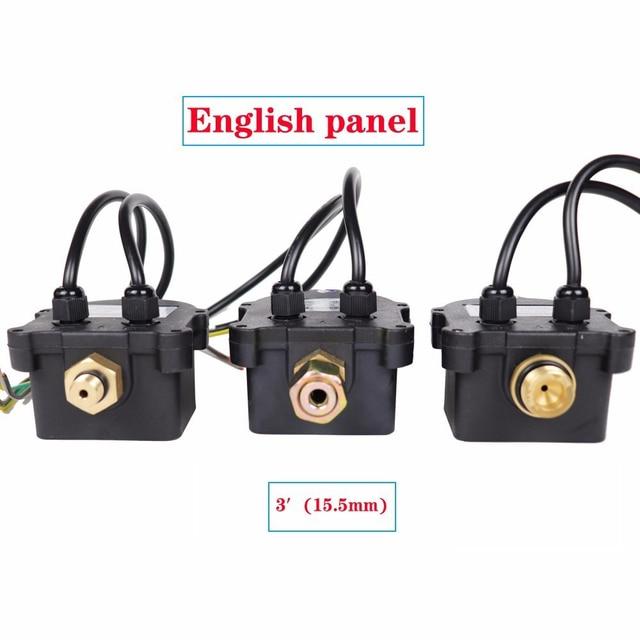 Rusia Tekanan Control Switch Digital Led Display Pompa Air G1 4 G3 8 G1 2 Wpc 10 Eletronic Controller Sensor Dengan Adaptor Pompa Aliexpress