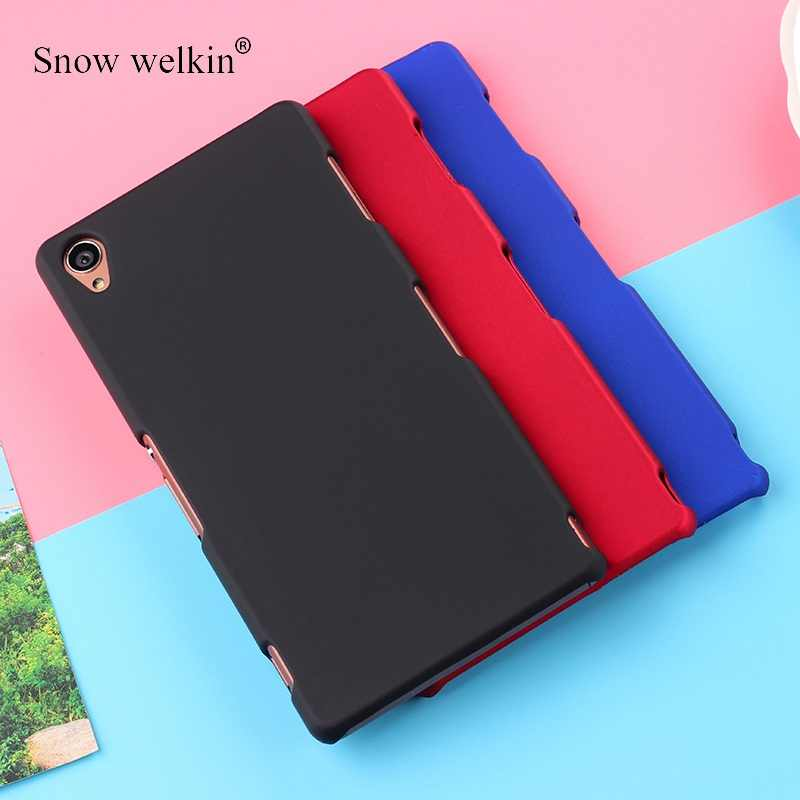 PC Matte Hard Plastic Case Cover For Sony Xperia 1 X Z Z1 Z2 Z3 + Z5 XZ1 XZ2 XZ3 mini Compact XA XA1 XA2 ultra M4 M5 10 Plus