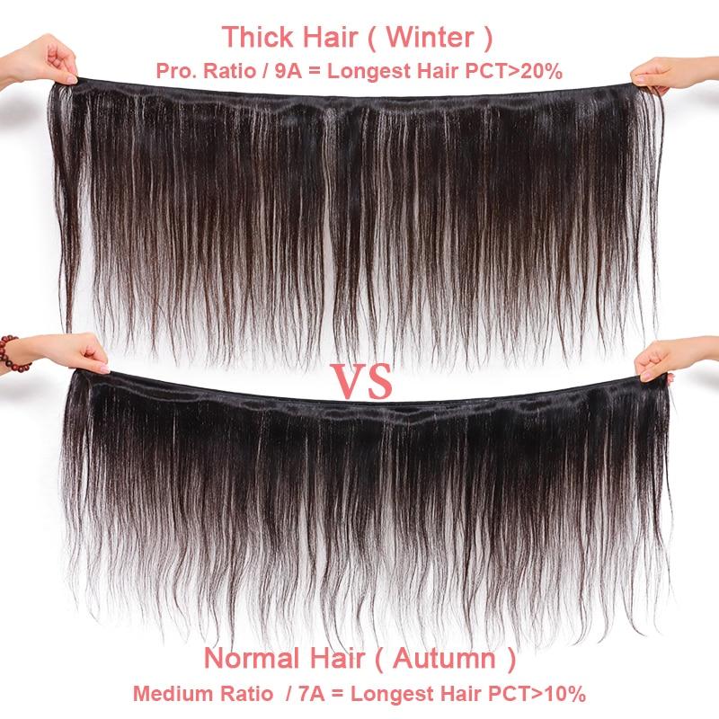 Ali Queen Hair 4Pcs Brazilian Body Wave Hair Weave Bundles P/9A  Virgin Hair Bundles Natural Color 6-30 inches Human Hair