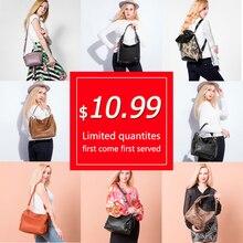 Realer women bag handbags school bags for ladies 2020 leather vintage school large capacity shoulder bag messenger bags 2020