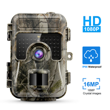 Camera 16MP 1080P Infrared LEDs Waterproof 120 Degree Angle Wild for Hunting