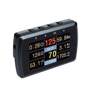 Image 4 - CXAT X501/A501C wielofunkcyjna inteligentny samochód OBD HUD miernik cyfrowy kod błędu Alarm z ekranem