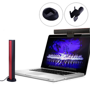 Image 2 - Gosear 3W USB 2.0 Mini Speaker High Quality Channel Laptop Portable Stereo Built in Sound Card Sound Bar For PC Computer Gadgets