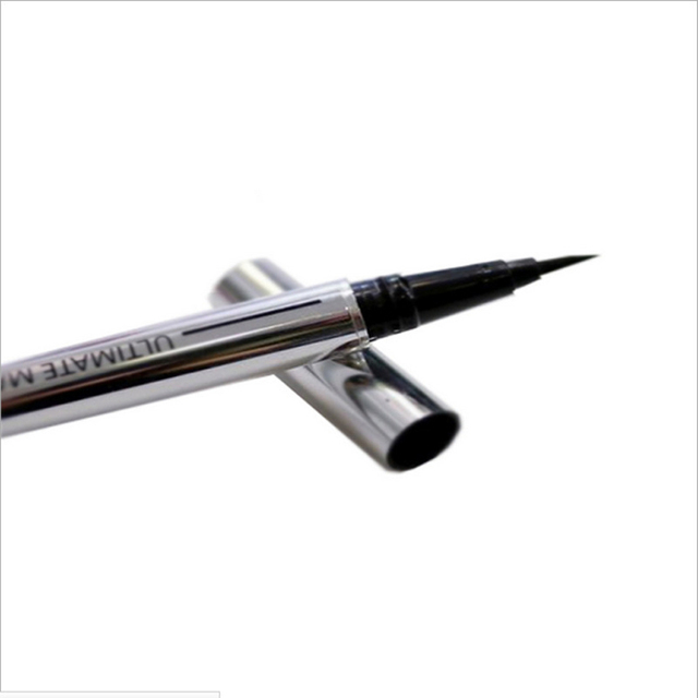 1 pcs Ladies Black Liquid Eyeliner Long-lasting Waterproof Eye Liner Pencil Smudge-Proof Cosmetic Beauty Makeup Liquid 1