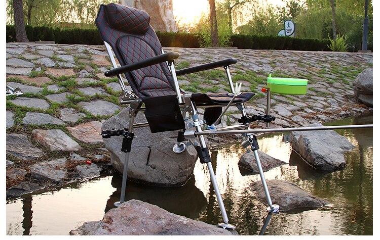 de levantamento cadeira de pesca reclinável de