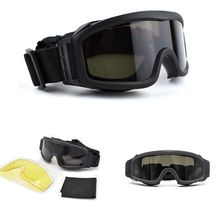 Tactical Googles Military Army Airsoft Shooting Hunting Glas