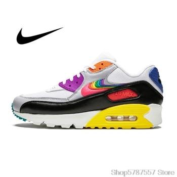 Tenis Nike Air Max 90 Oirignal Nike Air Max 90 BETRUE Women's air cushion running shoes breathable non-slip shoes CJ5482-100