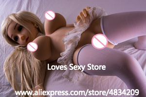 Image 4 - NEW 100cm Lifelike Solid Silicone Sex Dolls Large Boobs Life Size Love Doll Oral Adult Artificial Vagina Real Pussy Sexy Dolls